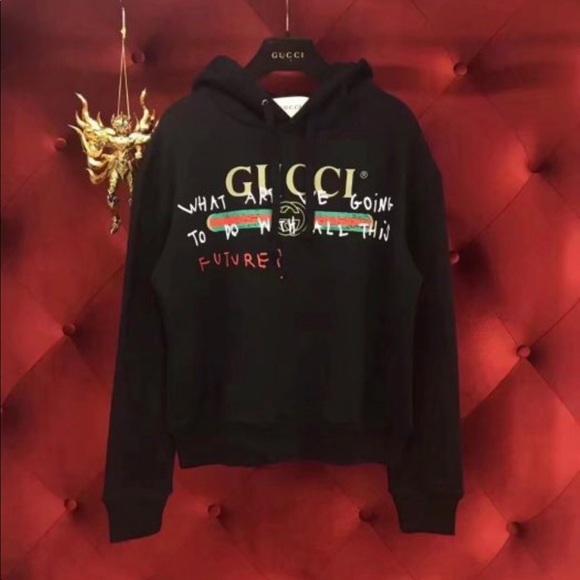 8bc71794 Gucci Coco Capitan logo sweatshirt
